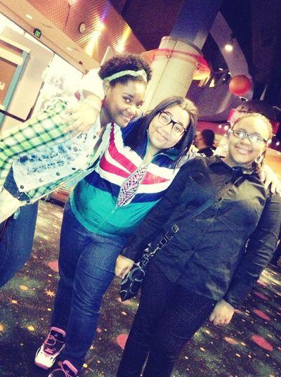 Movies last night