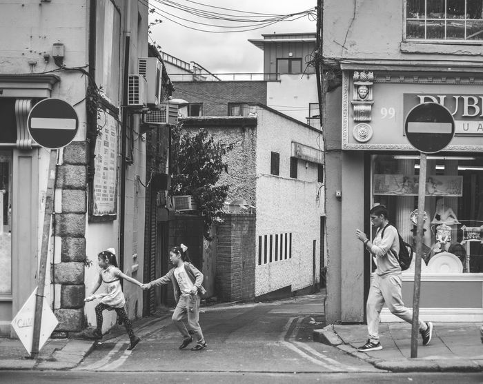 Street City Outdoors City Life Real People People Ireland City Life The Street Photographer - 2017 EyeEm Awards Black And White Photography Black & White Bwphotography Blackandwhite Bw Streetphotography Streetphoto Dublin The Week On EyeEm Black And White Friday EyeEmNewHere Stories From The City The Street Photographer - 2018 EyeEm Awards
