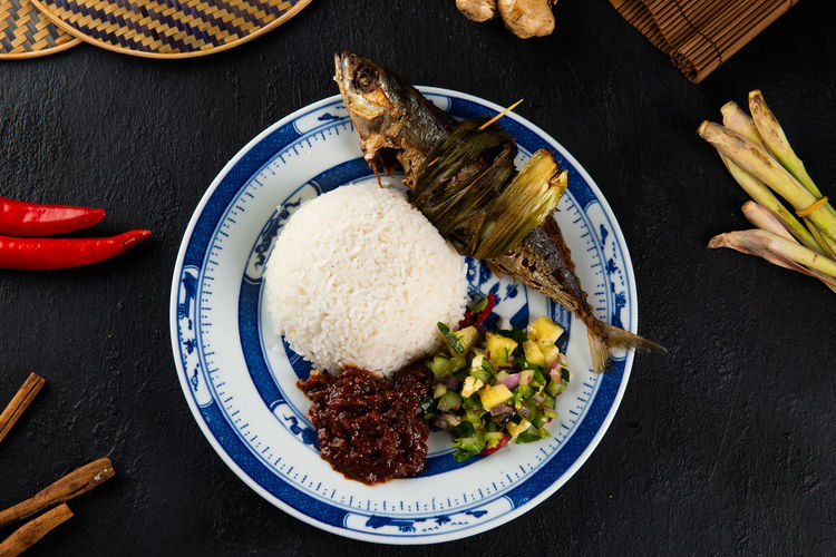 Fish Rice Food