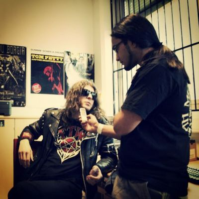 Rsj interviews 1349ad Inferno2010 Indierecordings hq Reuben