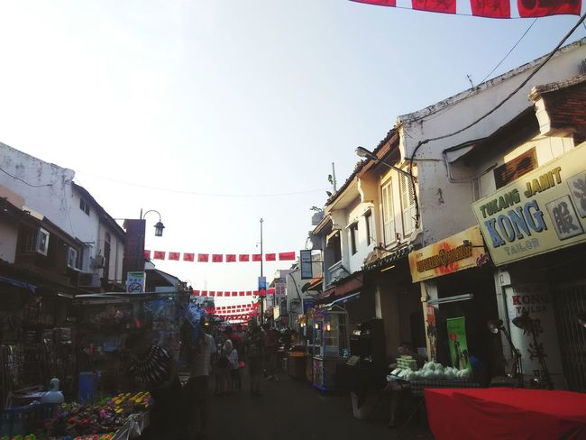 Malacca Malaysia Jonker Street Cny