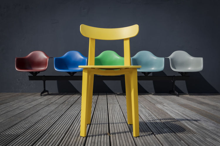 colors of Vitra - made at the creator meets event from Eyeem at the Vitra showroom in Hamburg Creator Meets Hamburg Vitra Showroom Vitra Contrast Colorful Symplicity Design In Front Of Minimalism Bench Arrangement EyeEm Gallery Canon EOS R Vitra Creator Meets In A Row Side By Side Wood - Material Still Life Furniture Flooring Wall - Building Feature No People Empty Absence Yellow Seat Chair Exceptional Photographs The Creative - 2019 EyeEm Awards The Minimalist - 2019 EyeEm Awards