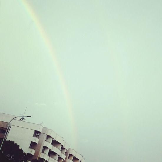 Twin rainbows in srilanka Twinrainbow Worldthroughmyeyes SriLanka Xperiaz2 Sonycam