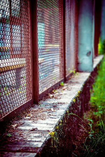 Architecture Built Structure Textured  Wall Barrier Fence Pattern Grass