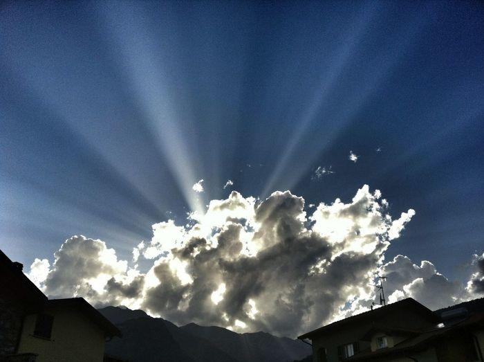 Sky Enjoying The Sun Clouds And Sky