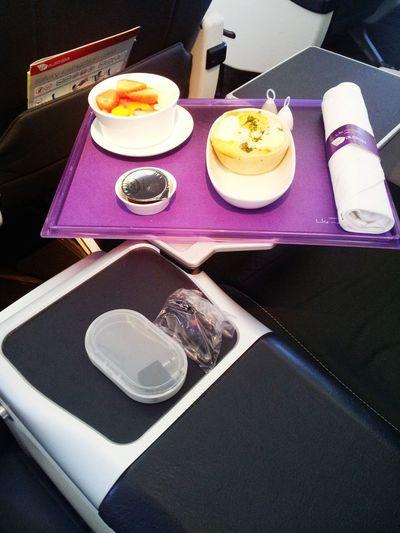 Business Class AirplaneFood Flying Relaxing Enjoying Life Everyday Joy Hello WorldTraveler Travel Photography Food Porn Awards