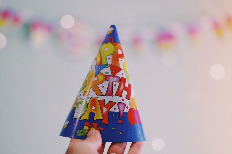 """Ceremonial"" hat 😂... Experience Background Colorful Fun Social Lifestyle Words Event Happy Cap Birthday Hat Party - Social Event Party Birthday Hat Multi Colored Human Body Part Body Part Creativity Human Hand Art And Craft Personal Perspective Hand Holding Paper Celebration Craft Finger Close-up Unrecognizable Person"