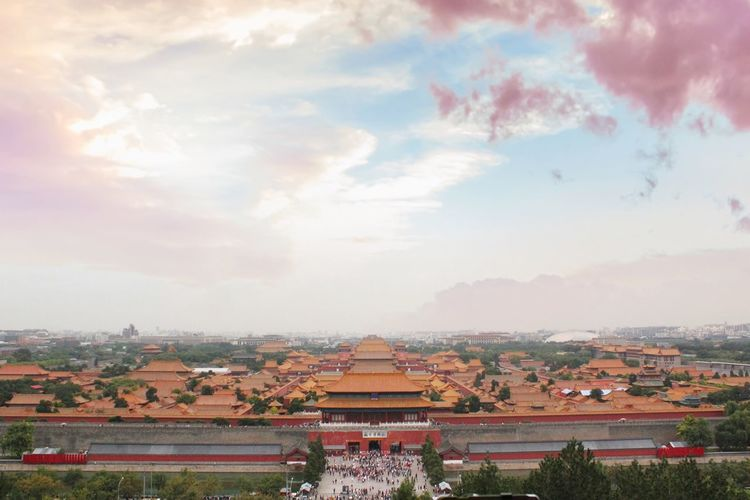Forbidden City Forbidden City, Beijing, China Architecture Built Structure Nature Building Exterior Plant Religion Travel Outdoors History Building Place Of Worship