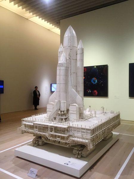 Spaceshuttle Art Museum Roppongi