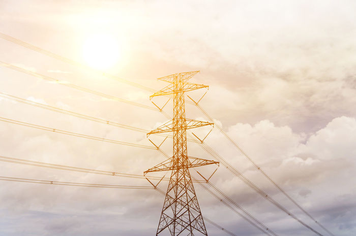 Cloud Cloud - Sky Cloudy Connection Day Electricity  Electricity Pylon Electricity Tower Fuel And Power Generation High Section High Voltage Low Angle View Nature No People Outdoors Power Line  Power Supply Scenics Sky Tall Tall - High Technology Tower