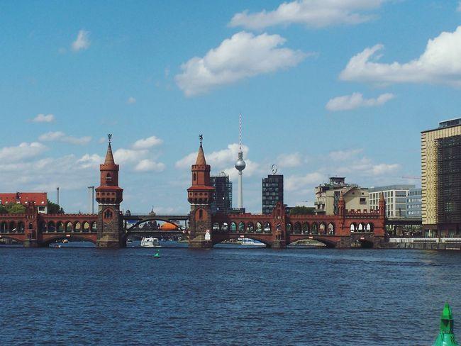 River Berlin Life City Berlin Spree River Spree Sky Water