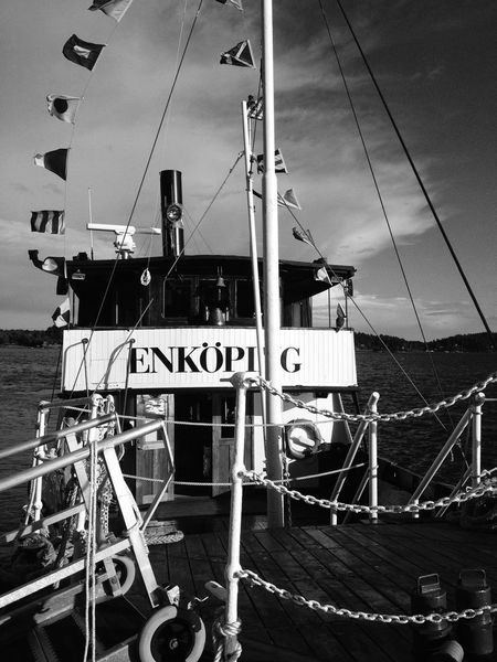 Blackandwhite Going On A Boat Ride Bw_collection Archipelago