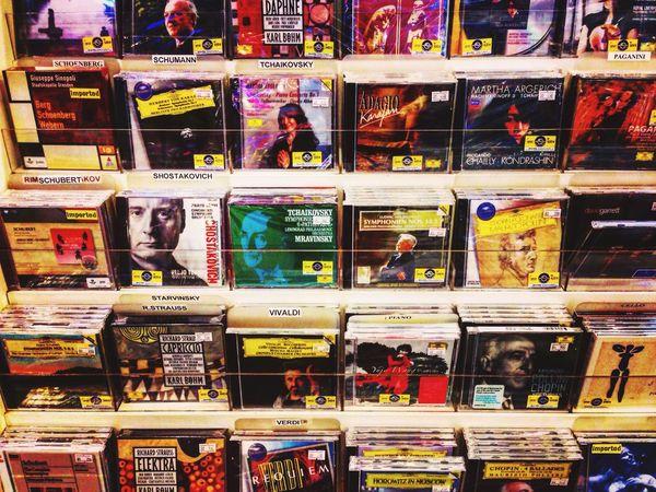 Music Store Urban Life Taking Photos