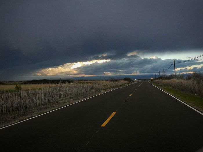 Cloud - Sky Road The Way Forward Dramatic Sky No People Extreme Weather Nature Sky Day Country Road Country Living Rice Field Storm Clouds Weather Changing Storm Clouds Gathering Storm Closing In Storms TCPM
