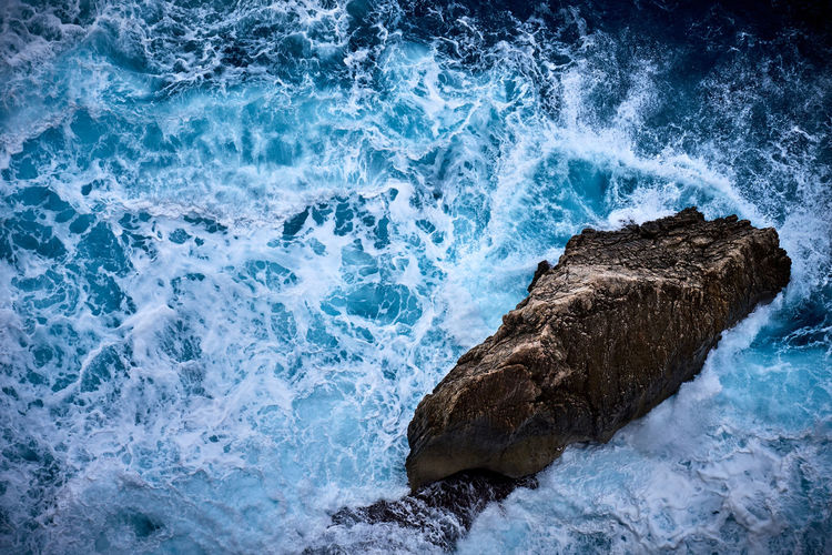 Mallorca Beauty In Nature Blue Cap De Formentor Crash Day Force Motion Nature No People Outdoors Power In Nature Rock - Object Sea Water Wave