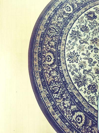 Carpet Oriental Design Beautiful Arabic Flowers