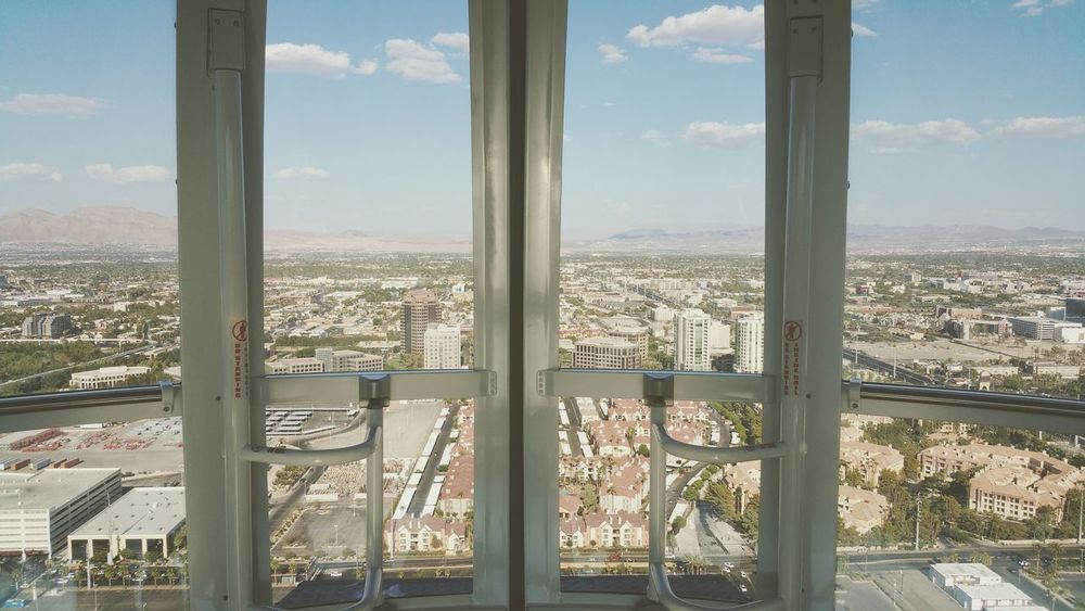 Skyline Travel Sky Doors Mountain Range Mountains And Sky Architecture Observation Point Observation Wheel Vegas