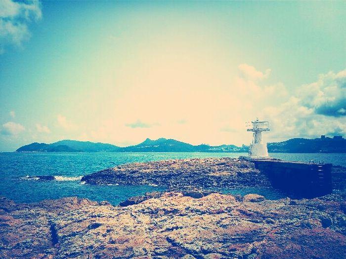 愛上屬於這裡一切一切 I love what i see 學懂享受你所看見的 你所感受的 沒有一樣是理所當然 Nature Sky Love Blue Enjoy Wildlife Breath Sea