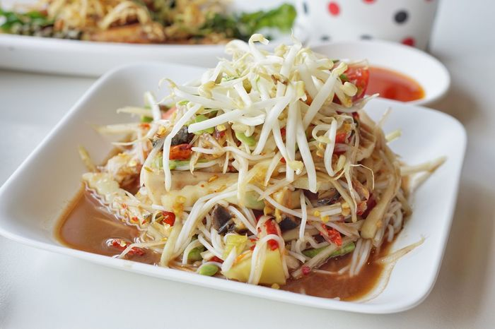 EyeEm Selects Food Food And Drink Freshness Thai Food Salad Papaya Salad Spicy Food Spicy Thai Food