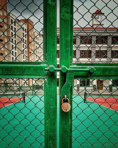 Instagood Instadaily Instalike Mumbai Vintage Tennis Court Instamood Morning