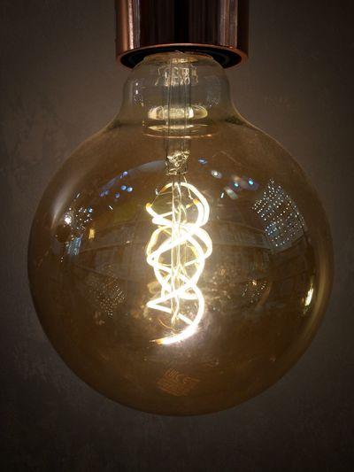 Illuminated Filament Electricity  Crystal Hanging Light Bulb Shiny Lighting Equipment Electric Light Recessed Light Lamp Darkroom Shining Glowing