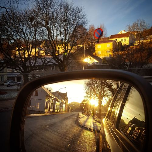 The City Light Car Reflection Transportation Sunlight Tree Sunset Sky Mode Of Transport City No People Bridge - Man Made Structure Outdoors Water Nature Vehicle Mirror Day Land Rover Freelander