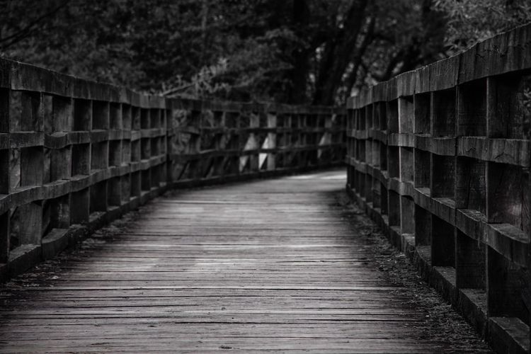 EyeEm Arch Architectural Column Wood - Material Wood Paneling Pattern Pattern, Texture, Shape And Form Outdoor Photography EyeEm Best Shots EyeEm Selects Taking Photos EyeEm Masterclass Backgrounds Bnw Bnw_friday_eyeemchallenge No People Selective Focus Black And White Monochrome Minimalism Nikon Footbridge Architecture Built Structure Pathway The Way Forward Empty Road Walkway Long Diminishing Perspective