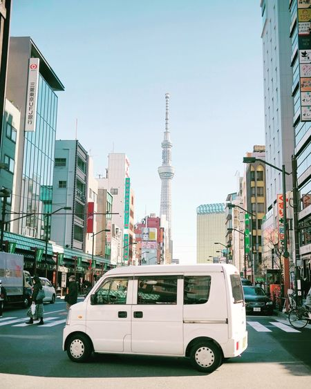 Cars and the city White Cars Small City Japan Tokyo Cityvibes Vibes Experimental Tones Colors EyeEm Best Shots EyeEmNewHere Eyemphotos
