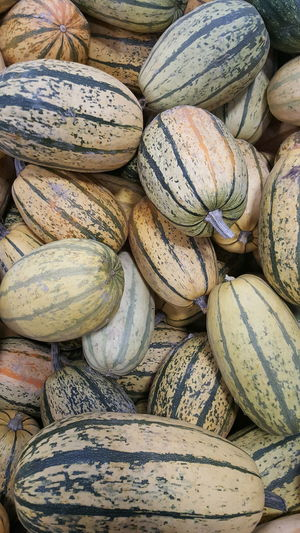 Full Frame Shot Of Squash At Market For Sale
