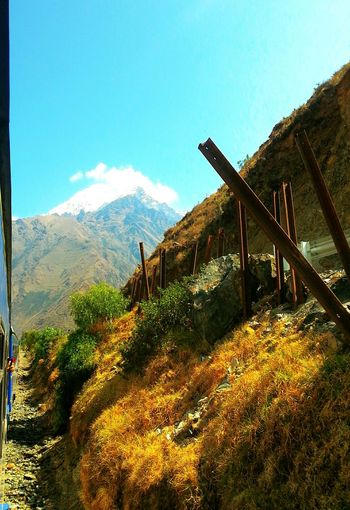 Railroad from Cuzco to Aguas Calientes, Peru - 16/09/2012 - Canon EOS 500D EyeEm Nature Lover Taking Photos Check This Out From My Point Of View Getting Inspired On The Road Mountains Landscape Railroad The Great Outdoors - 2015 EyeEm Awards Miles Away