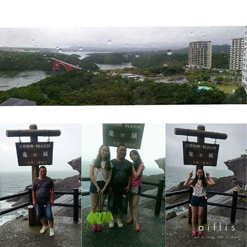 _20150722 ✈🇯🇵🎌 DAY 2 瘋狂下大雨的一天☔ 熊野那智大社 青岸渡寺 那智瀑布 鬼之城 伊勢神宮 伊勢志摩 ♨