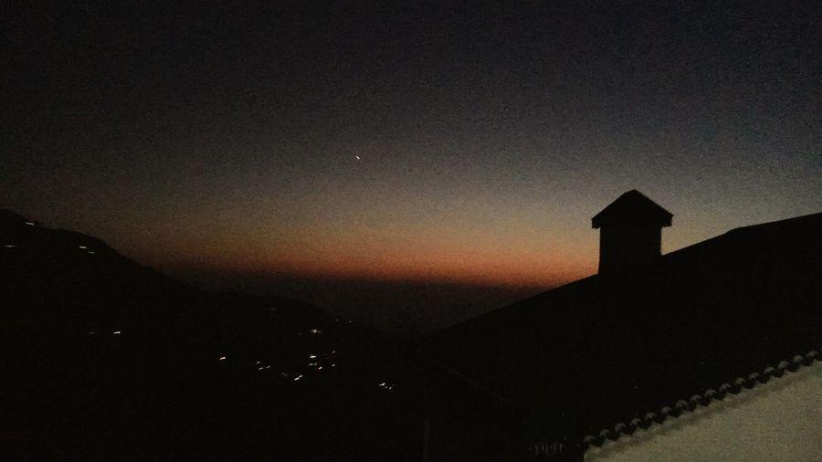 Sky Sunset Nature Hills