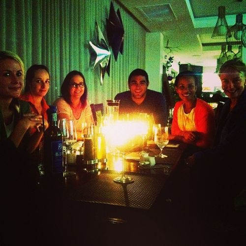 Meet the team from the Capetown Tweetup @hotelverde Freewifi plus earth hour every week! It's great being green