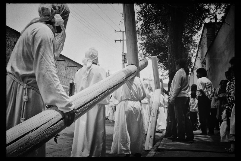 Black And White Film Photography Catholic Faith Christ Representation Christianity Cultural Heritage Day Faith&devotion Film Is Not Dead Film Photography Holy Week Celebrations Mexican Traditions Mexico Nikon F3hp/t People Religion Religious Traditions Analogue Photography The Photojournalist - 2017 EyeEm Awards The Photojournalist - 2017 EyeEm Awards