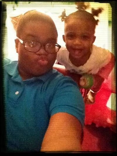 My lil Thug and I