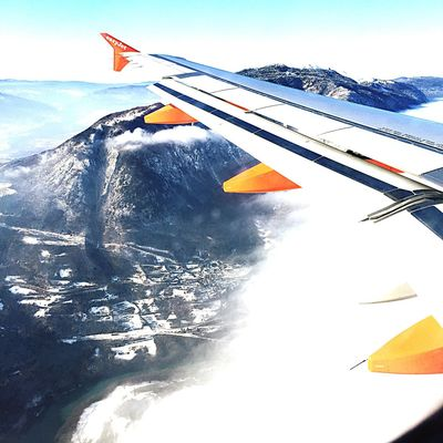Alpes franceses the sky Transportation Winter Alpes Alpessuisses Switzerland Sky Plane Flight Flying High January