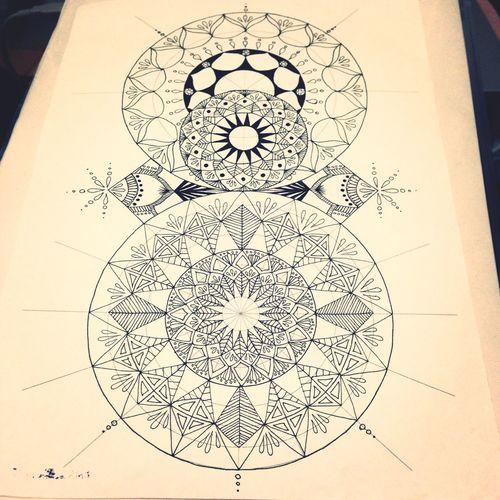 Art Mandala Drawing YohkoAmaterraArt Pattern Create Relax Writing Nature Natural