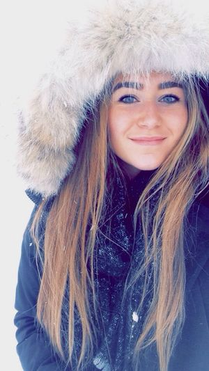Winter Cold Serre Chevalier  Blonde Snow Canadagoose That's Me Blue Eyes Ski Mountains