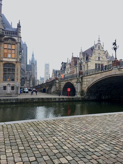 Mysterious Belgium Architecture Building Exterior Built Structure Travel Destinations City Water River Bridge - Man Made Structure Waterfront Outdoors Sky Cityscape Cultures No People Day