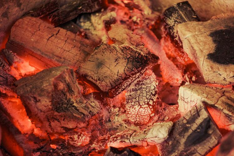 Full Frame Shot Of Coal