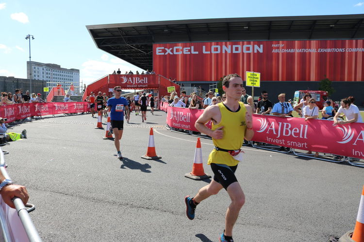 Adults Only Day Docklands ExCel Centre Full Length London Trip Outdoors People Running Sportsman Triathletes TRIATHLON