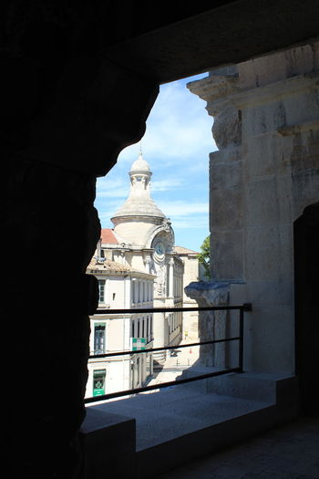 Church Church Tower Churchporn Nîmes Architecture Belief Building Building Exterior Built Structure Camargue Church Architecture Church Buildings Church Towers Day History Nature No People Outdoors Place Of Worship Religion Sky Spirituality The Past Tower Vignette Art