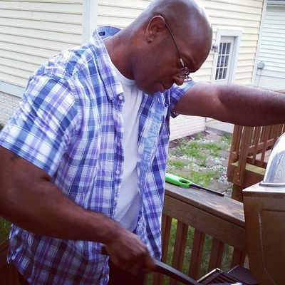 The Grill Master! Sexy Lovethatman MyHusbandRocks Unforgettableinstagram shootyourlife wifetweet