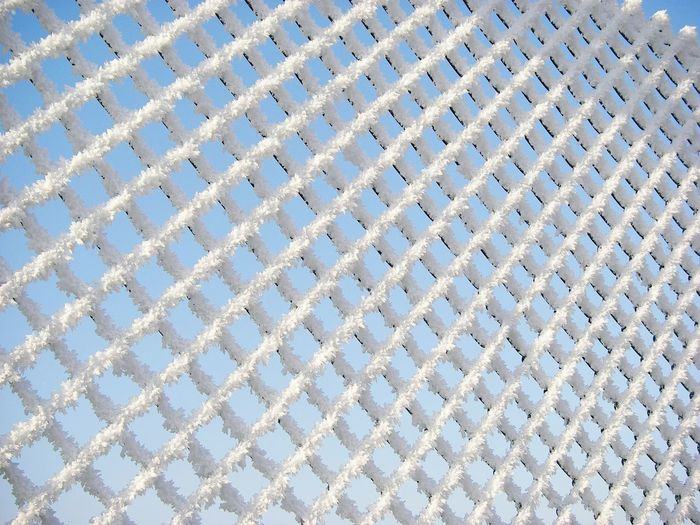 Pattern Low Angle View Repetition Full Frame Frozen Photography Frozen Fence Winter_collection Wintertime Details Of Nature Detail Photography Nature Photography Beauty In Nature Backgrounds Close-up Close Up Photography Close Up Shot