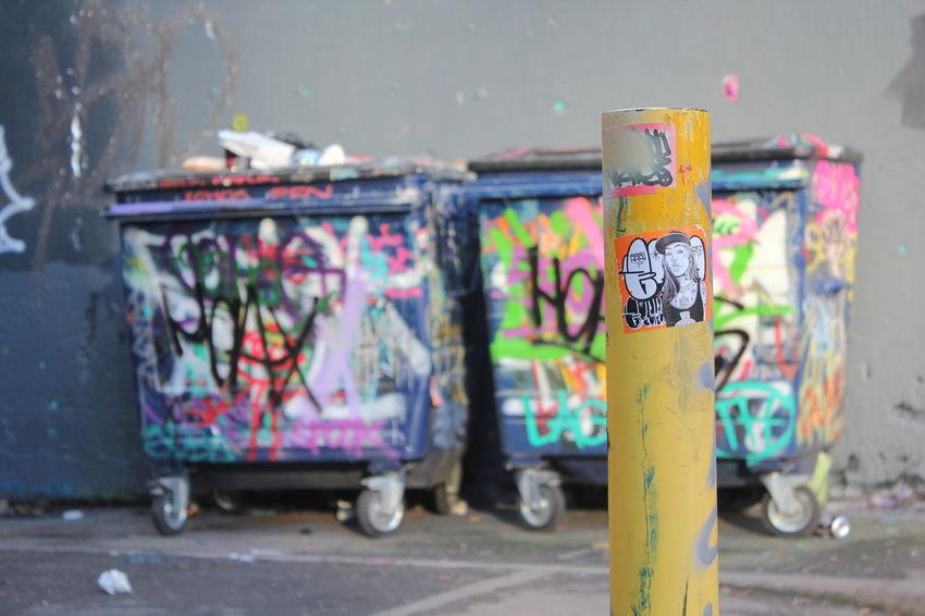 Illegal art in Leake Street Tunnel London Street Art Graffiti Leake St London