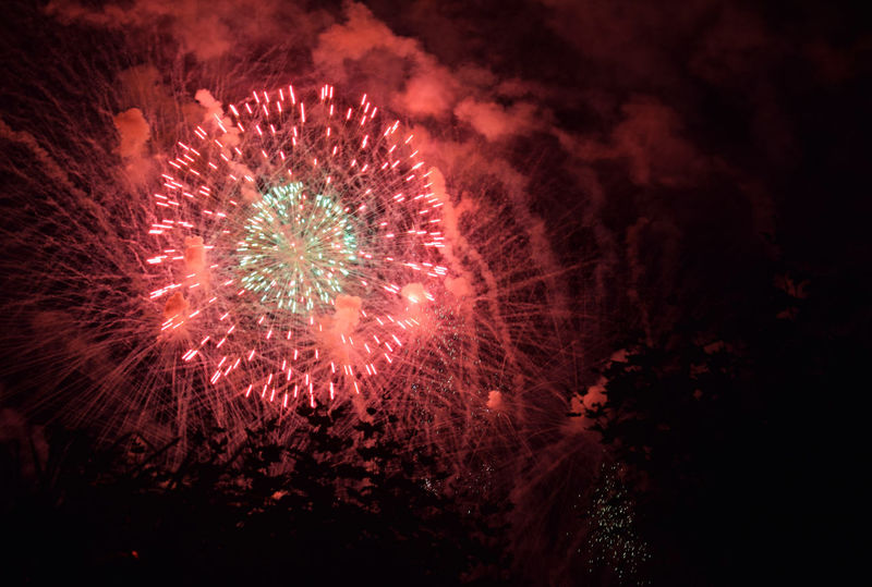 Exploding star Celebration Exploding Feuerwerk Firework Firework Display Fireworks Fireworks In The Sky Fireworks! Fireworksphotography Glowing Illuminated Night Red Sky Colour Of Life