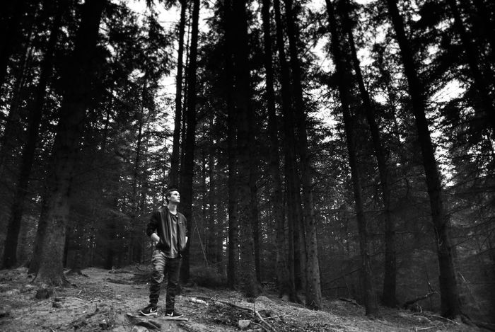 """posing"" Forest Tree WoodLand One Person Nature One Man Only Full Length People Adults Only Tree Trunk Standing Only Men Real People Film Industry Photography White Background Blackandwhiteworld Beauty In Nature Blackandwhitephoto Camera - Photographic Equipment Photography Themes Backgrounds Tree Nature Go Higher"