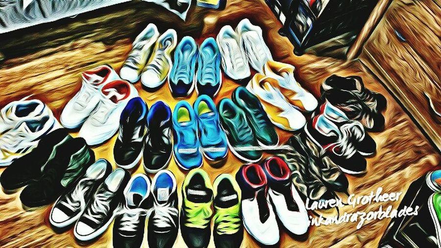 Few Pairs Ofmy Sneakers Sneakerhead  Sneakersaddict SneakerPorn Footwear Collector