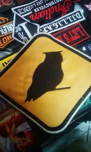 the symbol from my company, an owl , from buho rock shop, check our fb ;) Relaxing Check This Out Lima-Perú Conciertosperu Motoaventura Buhorockshop