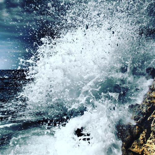 No People Beauty In Nature Water Outdoors Wave Power In Nature Power In Water